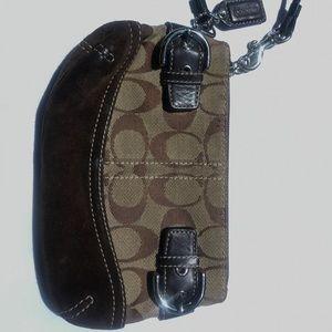 Small Coach coin bag